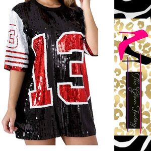 💕Sequins T-shirt Dress 💕